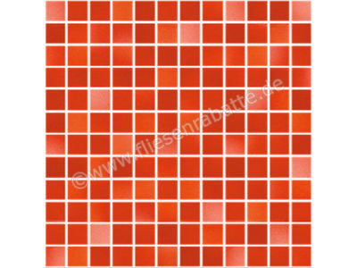 Jasba Fresh coral red mix 2x2 cm 41212H