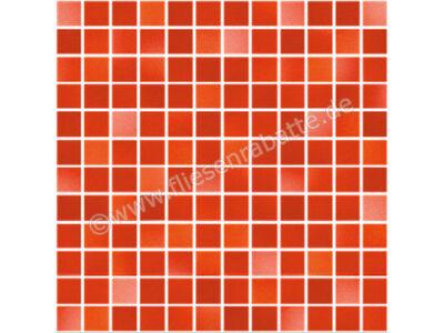 Jasba Fresh coral red-mix 2x2 cm 41212H