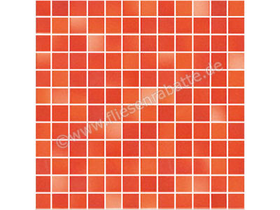 Jasba Fresh Secura coral red mix 2x2 cm 41312H