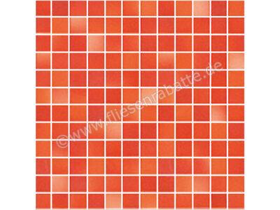 Jasba Fresh coral red-mix 2x2 cm 41312H