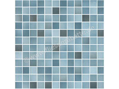 Jasba Fresh Secura denim blue mix 2x2 cm 41306H