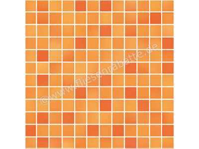 Jasba Fresh Secura sunset orange mix 2x2 cm 41311H