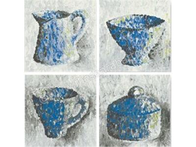 Jasba Paso blau grau weiß 10x10 cm 3172