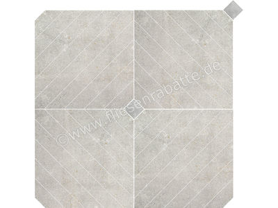 Love Tiles Metallic steel 90x90 cm 663.0120.0471