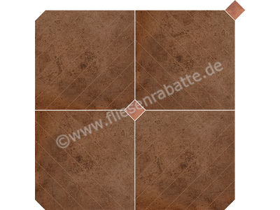 Love Tiles Metallic corten 90x90 cm 663.0120.0441 | Bild 1