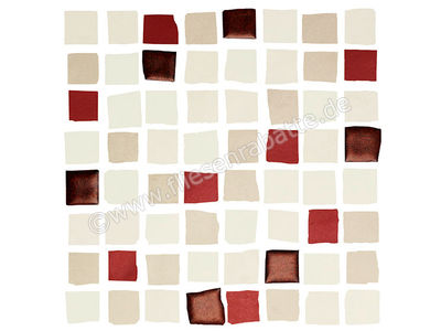 Love Tiles Splash red 20x20 cm 663.0108.0241 | Bild 1