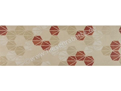 Marazzi Oficina7 beige rosso tabacco 32.5x97.7 cm MKUZ | Bild 1