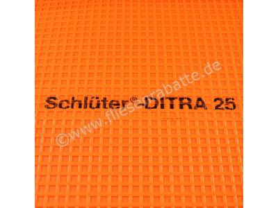 Schlüter Ditra 25 Entkopplungsmatte Ditra Qm Nach Wahl