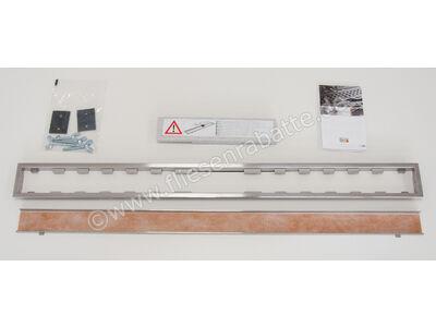 Schlüter KERDI-LINE-C Rinnenabdeckung für Duschrinne KLCA19EB110 | Bild 3
