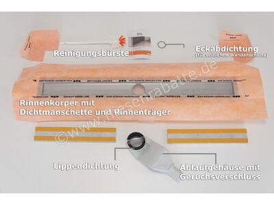Schlüter KERDI-LINE-F 40 Rinnenkörper für Duschrinne KLF40GE120 | Bild 6