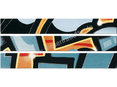 Steuler Graffiti petrolorange 11x80 cm 33012