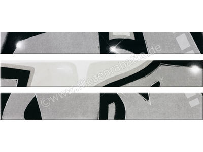 Steuler Graffiti schwarz-weiß 11x80 cm 33014