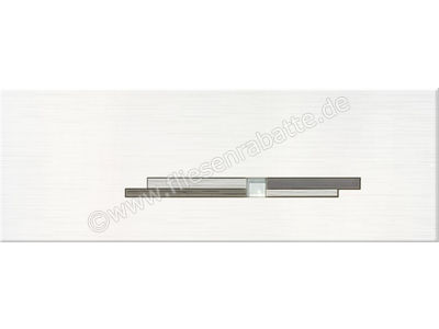 Steuler Livin´ weiß anthrazit 25x70 cm 27212