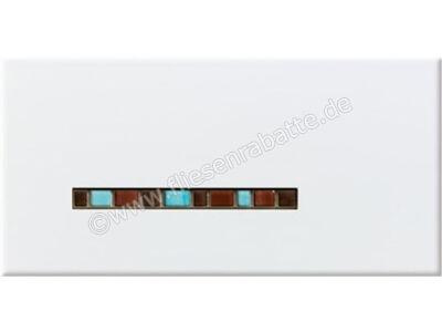 Steuler Pure White braun blau 20x40 cm 59292