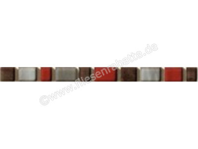 Steuler Pure White grau rot 2x20 cm 59202