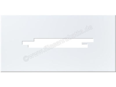 Steuler Pure White weiß 25x50 cm 26009