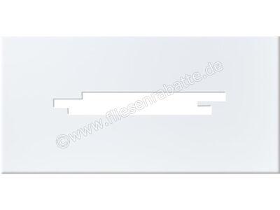 Steuler Pure White weiß 25x50 cm 26291