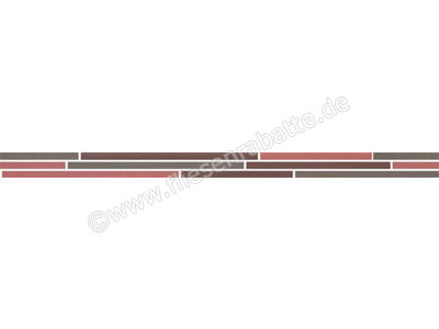 Steuler Teardrop opal rubin grafit 4x60 cm 30006