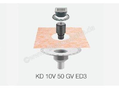 Schlüter KERDI-DRAIN Set Bodenablaufsystem KD10V50GVED3   Bild 1