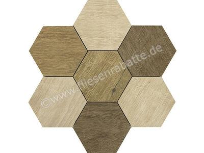 Marazzi Treverkdear beige natural brown mix 35.5x35.9 cm M0KQ | Bild 1