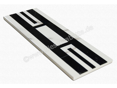 Villeroy & Boch New Tradition bianco nero 10x30 cm 1771 ML04 0   Bild 2