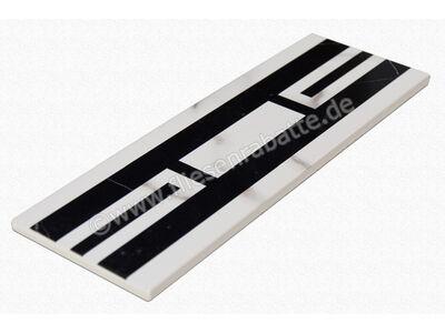 Villeroy & Boch New Tradition bianco nero 10x30 cm 1771 ML04 0   Bild 5