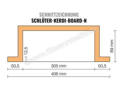 Schlüter KERDI-BOARD-N Nische und Ablagefläche für Wandbereiche KB12N305508A1 | Bild 2