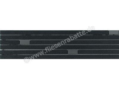 Agrob Buchtal Pizarro schwarz 15x60 cm 281480