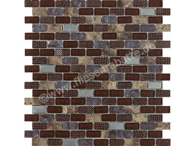 Ugo Collection Mosaik macbeth brown 28.5x30 cm MACBETH BROWN | Bild 1