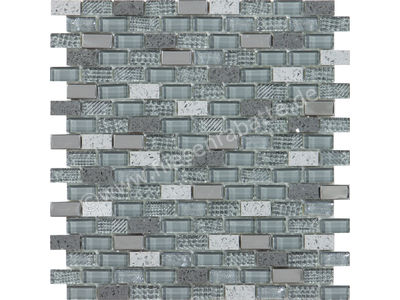 Ugo Collection Mosaik macbeth grey 28.5x30 cm MACBETH GREY | Bild 1