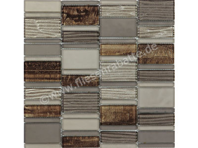 Ugo Collection Mosaik meuse brown multiple 30x30 cm MEUSE BROWN MULTIPLE | Bild 1