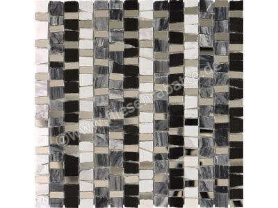 Ugo Collection Mosaik montblanc marqina 30x30 cm MONTBLANC MARQINA | Bild 1