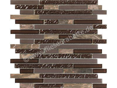 Ugo Collection Mosaik nome 003 brown multiple 30x30 cm NOME 003 BROWN MULTIPLE | Bild 1