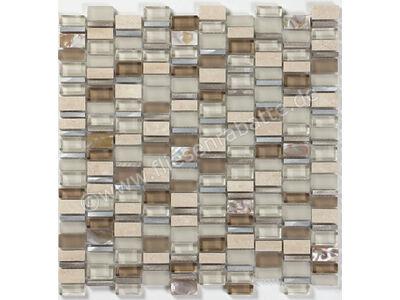 Ugo Collection Mosaik ole crema mix multiple 30x31 cm OLE CREMA MIX MULTIPLE | Bild 1