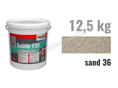 Sopro Bauchemie Solitär F20 Pflasterfugenmörtel 1030-12 | Bild 1