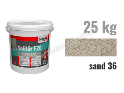 Sopro Bauchemie Solitär F20 Pflasterfugenmörtel 1030-25 | Bild 1
