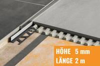 Schlüter SHOWERPROFILE-S edelstahl gebürstet SPSA50EB/200