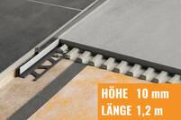 Schlüter SHOWERPROFILE-S edelstahl gebürstet SPSB100EB/120
