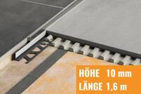 Schlüter SHOWERPROFILE-S edelstahl gebürstet SPSB100EB/160
