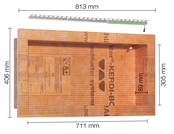 Schlüter KERDI-BOARD-NLT warmweiss 3000K KB12NLTP5AE1