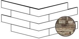 ceramicvision Brickup dark wood 25x49cm CVBKPA32