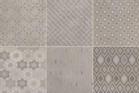 Emil Ceramica Kotto decors cenere 20x20cm E32W 027P8RD