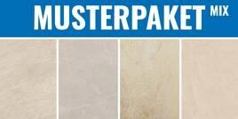 Steinoptik Mix Beige n-stone taupe - evolution galaxy - my earth hellbeige - concept beige 30x30cm MPSteinoptikMixBeige