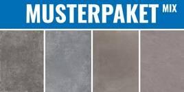 Betonoptik Mix Dunkelgrau fusion dark - tool grey - block graphite -concept grey 30x30cm MPBetonoptikMixDunkelgrau