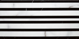 Villeroy & Boch New Tradition bianco nero 15x30cm 1772 ML07 0