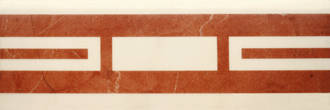 Villeroy & Boch New Tradition crema rosso 10x30cm 1771 ML34 0