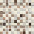 Jasba Senja Pure wood-mix metallic 2x2cm 3306