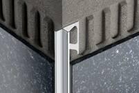 Schlüter INDEC-ACG Aluminium chrom glänzend eloxiert IN110ACG