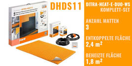 Schlüter DITRA-HEAT-E-DUO-WS DHDS11