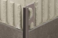 Schlüter QUADEC-TSSG Aluminium strukturbeschichtet steingrau Q100TSSG